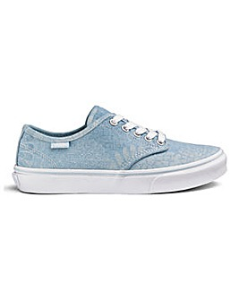 Vans Camden Floral Ladies Trainers
