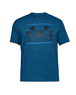 Under Armour Blocked Sportstyle Logo Tee