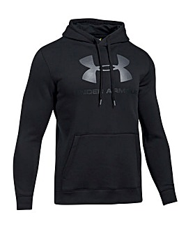 Under Armour Rival Fitted Graphic Hoody