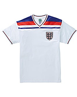 England 1982 Retro Football Shirt
