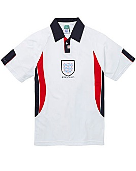 England 1998 Final Retro Football Shirt