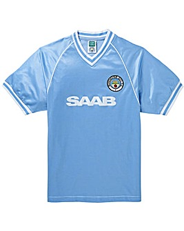 Manchester City Retro Football Shirt