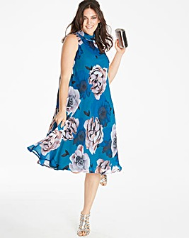 Joanna Hope Print Swing Dress