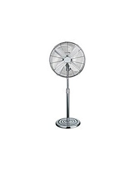 Challenge 16 Inch Pedestal Fan - Chrome.