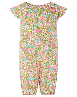 Monsoon New born baby Isla floral romper