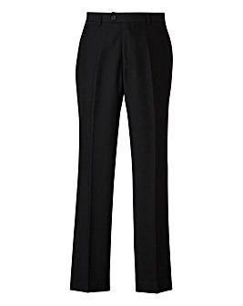 W&B London Black Slim Trousers 31in