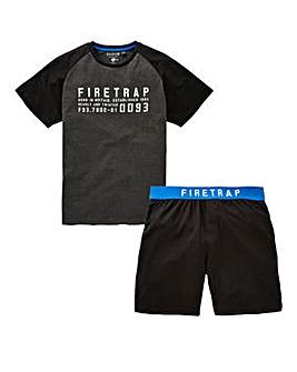 Firetrap Shorts PJ Set