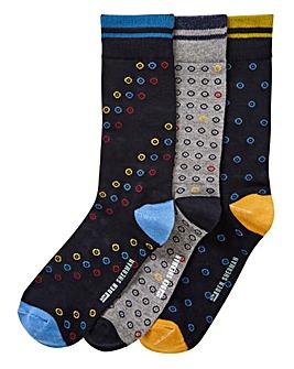 Ben Sherman Pack of 3 Socks