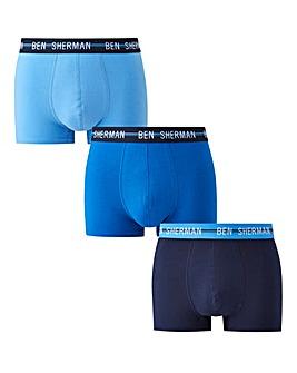Ben Sherman Pack of 3 Boxers