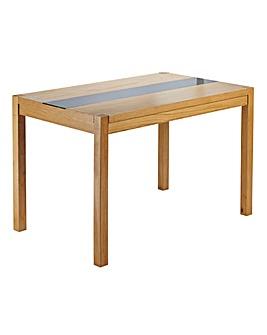 Oakham Glass Panel Rectangular Table
