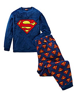 Superman Fleece PJ Set