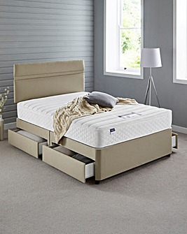 Silentnight Miracoil Divan with 4 Drawer