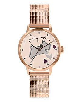 Radley Ladies Mesh Watch - Rose Tone