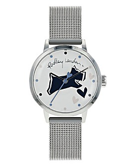 Radley Ladies Mesh Watch - Silver Tone
