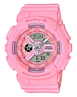 Baby-G Ladies Pink Digital Watch
