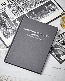 History of Your Football Club Book A4