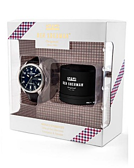 Ben Sherman Watch & Speaker Set