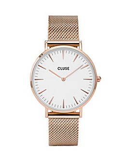 CLUSE Ladies La Boheme Mesh Watch