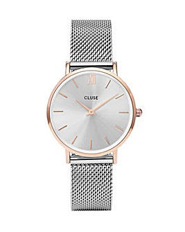 CLUSE Ladies Minuit Mesh Watch