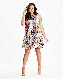Simply Be Drop Waist Floral Tunic Dress