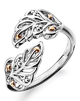 Clogau Debutante Feather Ring