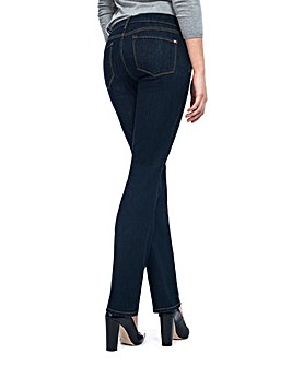 NYDJ Marilyn Straight Dark Denim Jeans