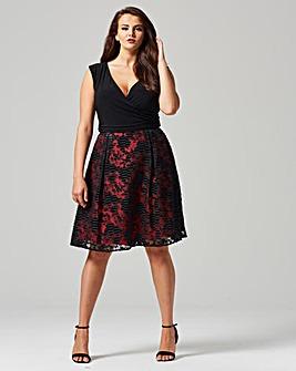Studio 8 Josephine Jacquard Dress