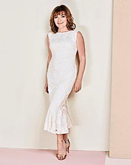 Lorraine Kelly Peplum Dress