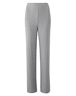 Classic Leg Slinky Trousers Length 27in