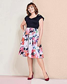 Lorraine Kelly Scuba Fit & Flare Dress
