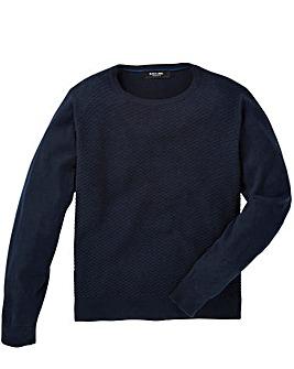 Black Label Texture Stitch Knit Regular