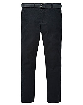 Black Label Belted Smart Stretch Chino L