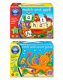Pack of 2 Spelling & Counting Games