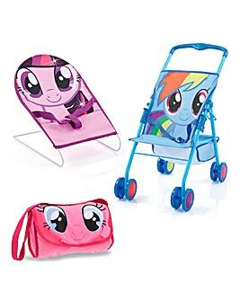 My Little Pony Friendship Pram Set