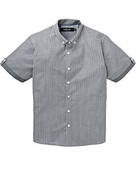 Black Label Checked Trim Shirt
