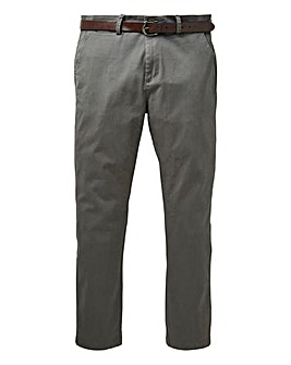 Black Label Belted Smart Stretch Chino S