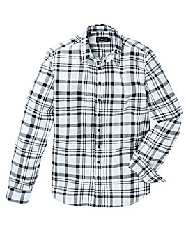 Label J Checked Flannel Shirt