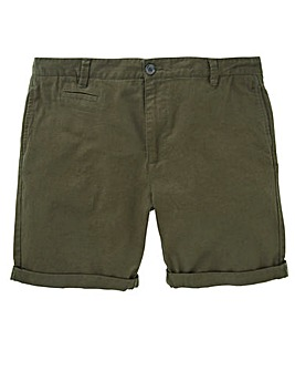 Black Label Linen Mix Smart Short