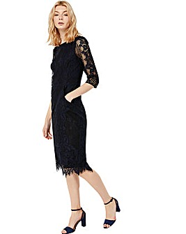 Monsoon Courtney Lace Dress