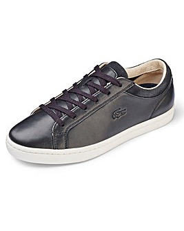 Lacoste Straightset Soft Leather Trainer