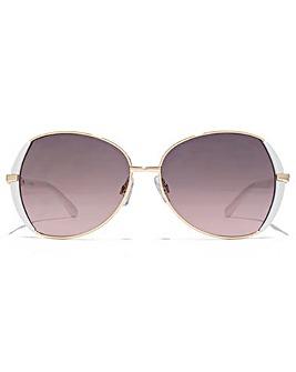 Carvela Metal Butterfly Sunglasses