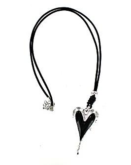 Lizzie Lee 3D Heart Necklace