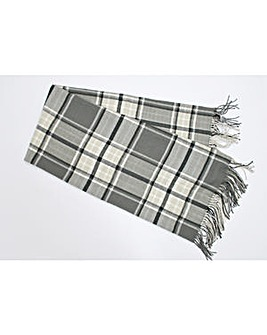 cascade home henley check throw