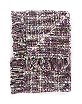 cascade home space dye throw