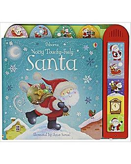 Noisy Touchy Feely Santa Book
