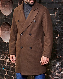 Black Label Military Wool Coat Regular