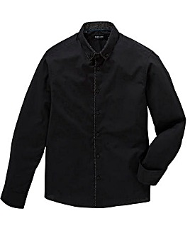 Black Label Plain Front Shirt