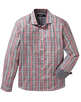 Black Label Checked Shirt Long