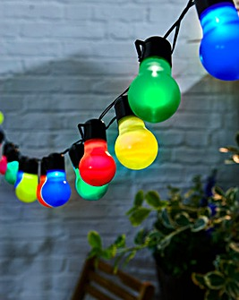 Solar Bulb Party String Lights Set of 20