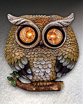 Owl Solar Motion Sensor Security Light